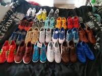 Various adidas trainers size 8