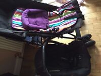obaby care seat come with FREE pusher chair