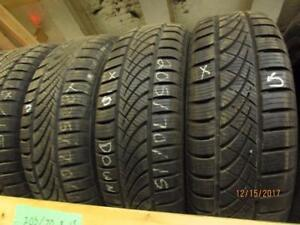 205/70R15 SET OF 4 USED HANKOOK ALL WEATHER  TIRES
