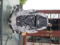 Vango Sherpa Grey 65L Rucksack, excellent condition. Ideal for Duke of Edinburgh expeditions