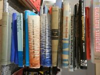 Collection of Marine Sailng Books navigation etc