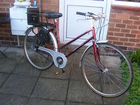 Euro Star Vintage Style 3 Speed Ladies Bike.
