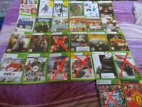 20 Xbox 360 games and 1 xbox original game
