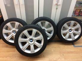 "Bmw E46 17"" Alloy Wheels."