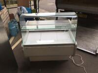 Counter display fridge 1m for restaurant takeaway cafe pizza shop