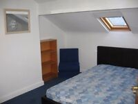 Attic double room In houseshare in Armley, close to Leeds Centre and Bradford Low deposit.