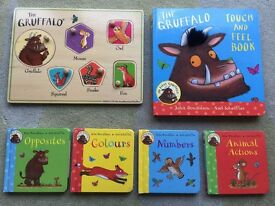 Gruffalo puzzle and book bundle