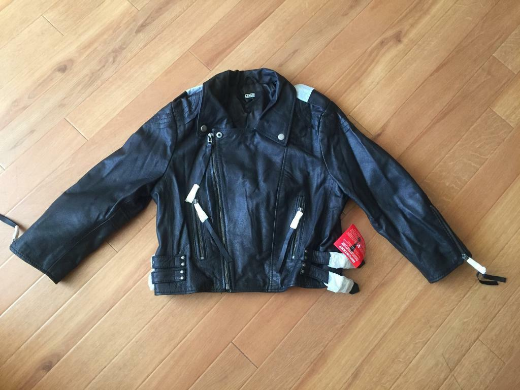 Brand new real leather jacket. Never worn
