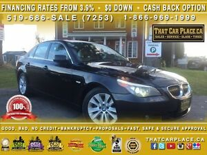 2004 BMW 5 Series 545i-V8-Bluetooth-CleanCarproof-Htd Lthr Sts-R