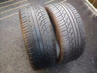 """205/40/17"""" Part Worn Tyres 5.5mm"""