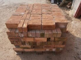 Buff coloured bricks X 490 £200