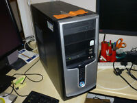 Tower PC Intel Core Duo Base Unit