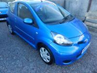 2009 (59) TOYOTA AYGO 1.0 VVT 3 Door Hatchback *** 1 OWNER *** £20 ROAD TAX ++++