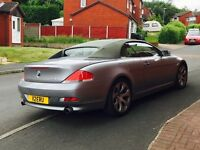Bmw 645i convertible,sport,low miles,FULLY Loaded,Px,Swap,Audi q7,range rover,X5