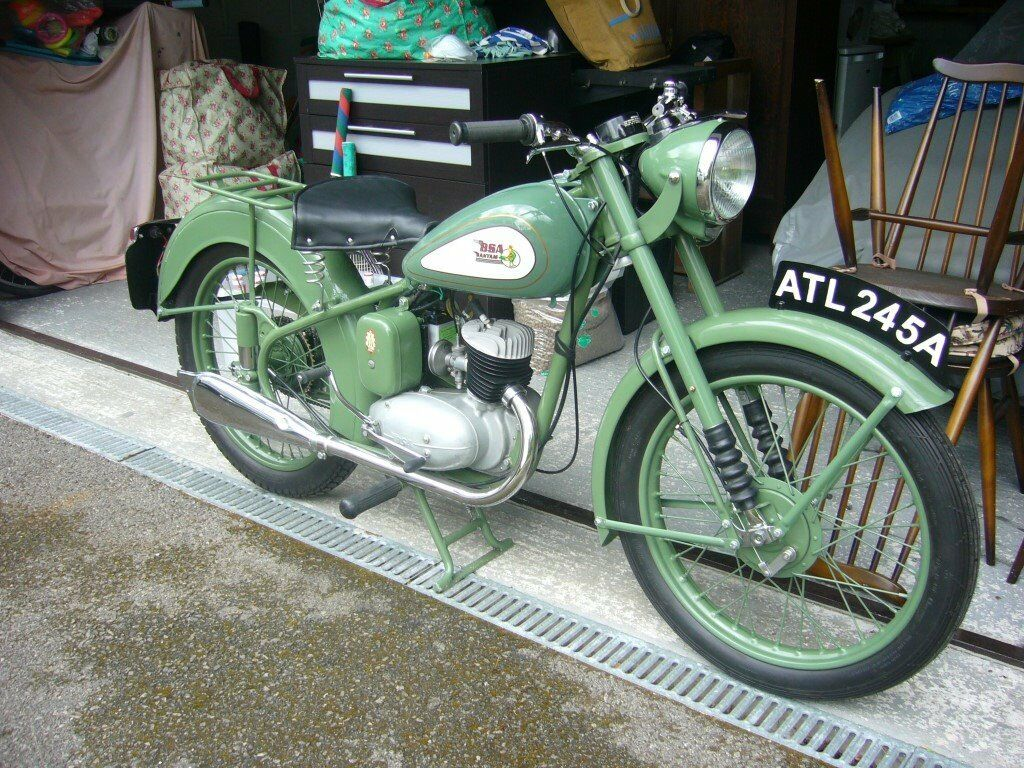 1952 BSA BANTAM D1 de Luxe - total restoration   in St Ives, Cornwall    Gumtree