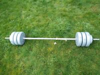 Barbell 32kg weights