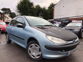 Peugeot 206 1.1 Look manual Starts and drives Proof Of Cambelt and water Pump Changed