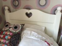 Belle Maison Girl's single bed with mattress