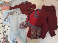 baby boy bundle of clothes 0-9months