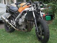 Honda CBR 600 Streetfighter Cafe Racer only 20k miles