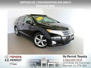 2012 Toyota Venza AWD V6, TOURING, CUIR, TOIT PANORAMIQUE, MAGS