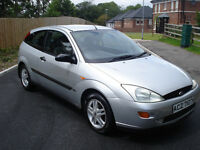1999 ford focus 3 door silver petrol