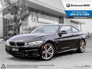 2014 BMW 4 Series 435i Xdrive M Performance, Executive, Premium!