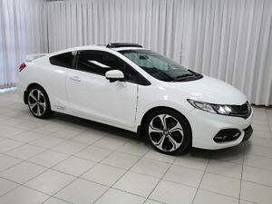 "2015 Honda Civic Si 6-Speed! Sunroof, 18"""" Alloys, Navigation, B"