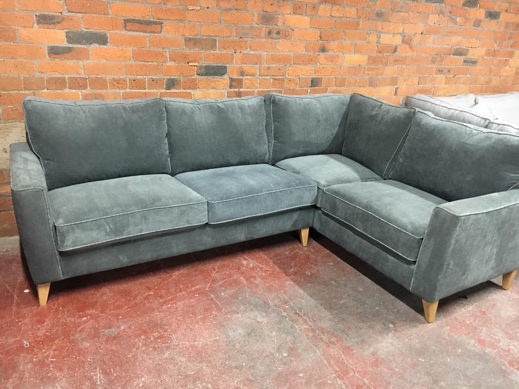 Gray corner sofa uk refil sofa for Sofa bed jogja