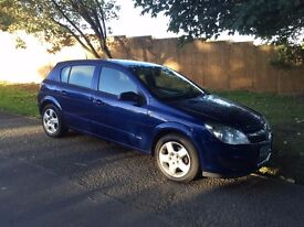 VAUXHALL ASTRA DIESEL, 5 DOOR, 2007/57, LOW MILES,LONG MOT, FSH, CHEAP TO RUN , GREAT CONDITION