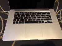 MacBook pro retina (Magic Mouse and case), i7, 8gb RAM, 500GB SSD, New logic board
