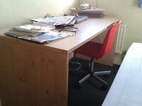 office chair bookshelf desk telephone fax printer trolley from 10 pounds office desk 40 pounds comp
