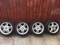 *** Genuine Seat Leon Cupra R FR Alloys/Tyres Set Of 4 Excellent Condition 5 Stud ***