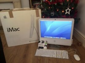 "Apple iMac 20"" + Keyboard, Remote, Mouse Original Box and Final Cut Express"