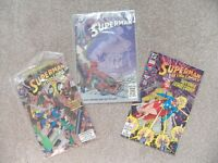 3 Superman comics from 1991 / 1992, US, DC Comics vgc