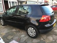 VW GOLF, 1.8 TDi, 2008 black, Full MOT, 2 owners. Very good condition, quick sale required.
