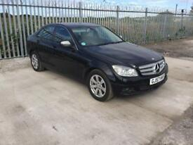 2008/57 MERCEDES C220 CDI SE 2.2 BLUE EFFICIENCY DRIVES GREAT 12 MONTHS M.O.T GREAT SPEC...