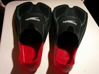 Speedo Biofuse Fin - Red and Black