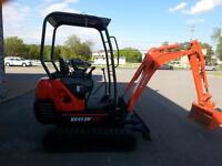 Kubota KX41-3 Mini Excavator