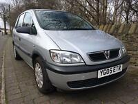 2005 Vauxhall Zafira 1.6 12 Months Mot 89k Miles 2 Keys