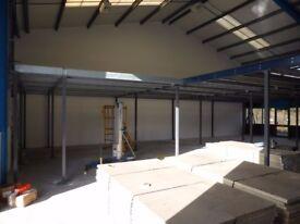 Used Mezzanine Floor - 12000mm x 10500mm - £5670.00+vat