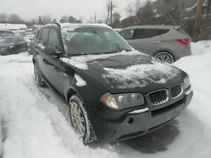 2004 BMW X3 3,0i AWD (Beige Leather, Panoramic roof)