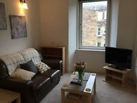 Spacious furnished 1 bedroom flat Gorgie, available now!!