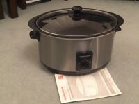 Morphy Richards sear and stew slow cooker 6.5 litre