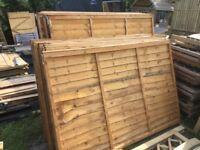 Fence Panels. New. WAYNEY BOARD. 4 ft