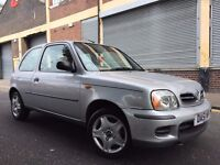 Nissan Micra 2002 1.0 16v S 3 door LOW MILEAGE, PERFECT SMALL CAR, BARGAIN