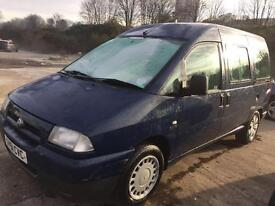 Fiat Scudo 2.0 hdi, full disabled access from rear! 12 months mot