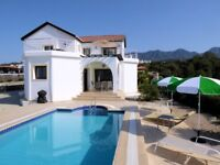 Jasmine Villa, Esentepe, Northern Cyprus - for families or couples. Private pool. Stunning views.