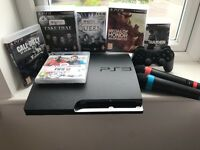 PS3 Console, Controller and Sing Star Mics