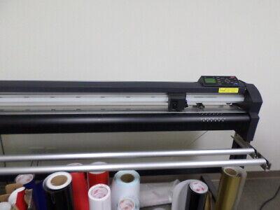 Vinyl Express Q54 54 Vinyl Cutter - Good Clean Working Condition